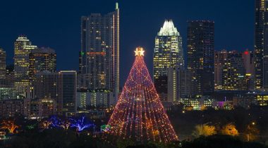 Austin's December Winter Wonderland